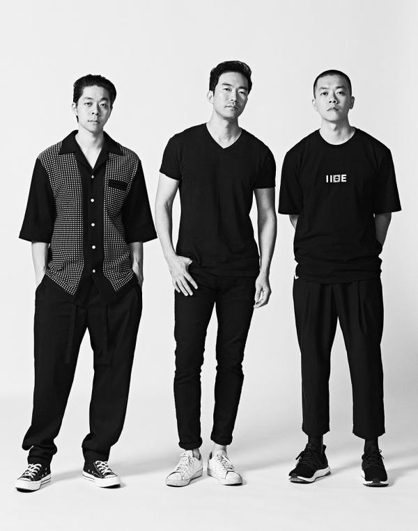 (좌측부터) 이세 김인태, 라이 이청청, 이세 김인규 /사진= 한국콘텐츠진흥원 제공