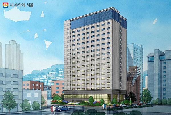 서울시가 종로구 도심 호텔을 활용해 청년임대주택으로 공급했다. [사진=서울시 제공]